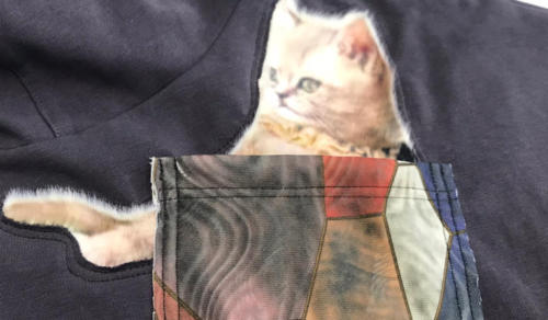 Одежда с пушистыми котиками